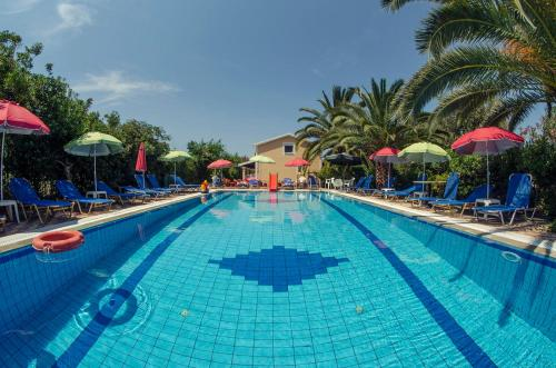 The swimming pool at or near Eleni Family Apartments