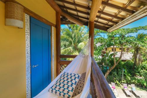 Uma varanda ou terraço em Hotel Via dos Corais