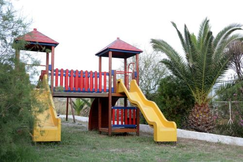 Children's play area at Andros Holiday Hotel