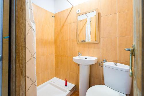 A bathroom at Pensión Ayuntamiento