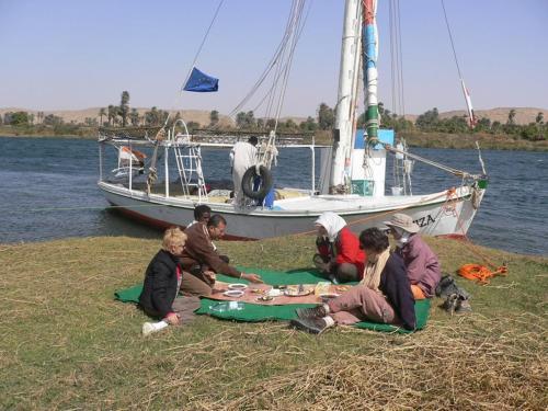 Felucca Nile sail Boat