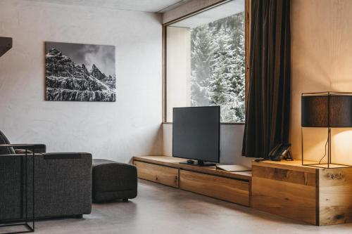 A television and/or entertainment center at rocksresort