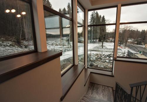 """Лесной отель """"Рантала"""" зимой"""
