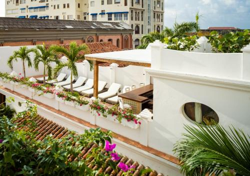 A view of the pool at Hotel Casa San Agustin or nearby