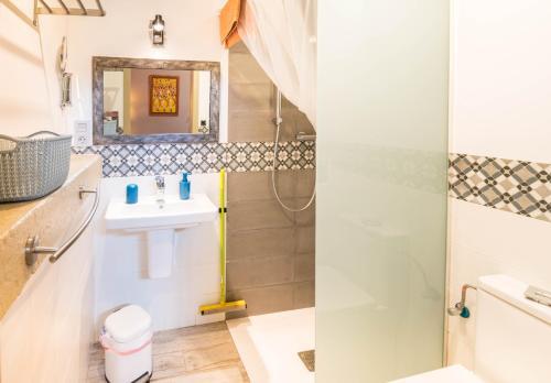 Un baño de Alojamiento Rural La Cañada