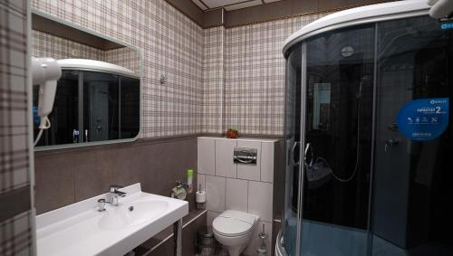 A bathroom at Hotel Astral Complex A
