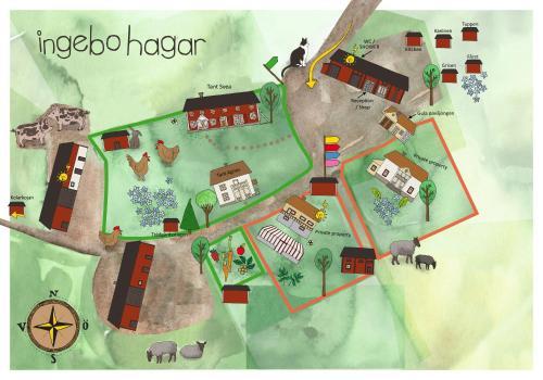 Ingebo Hagar bondgårdsboende