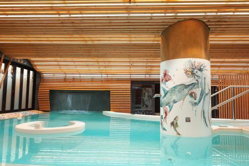 The swimming pool at or near Bohemia Suites & Spa - Adults Only