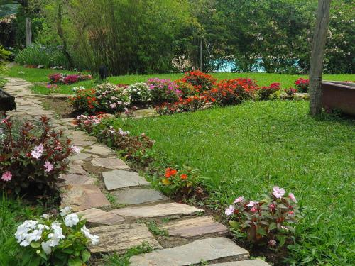 A garden outside Capricho Asturiano