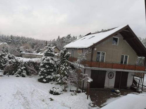 PAKLADA 2 Pokój typu studio during the winter