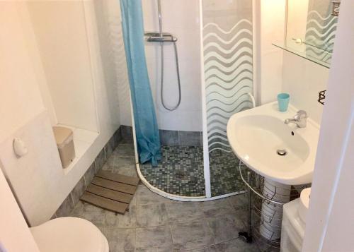 Ein Badezimmer in der Unterkunft Villasud