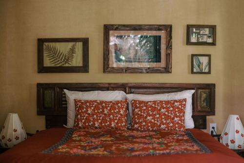A bed or beds in a room at An Villa