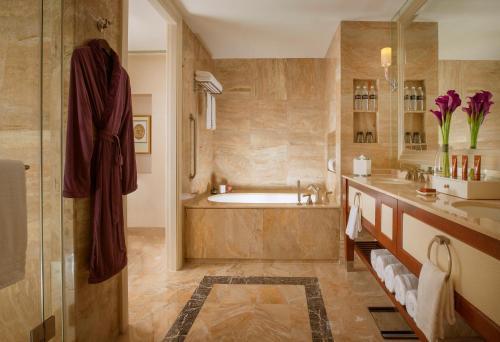 A bathroom at Conrad Macao