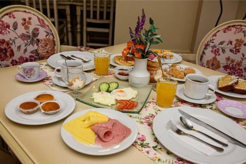 Επιλογές πρωινού για τους επισκέπτες του Parthenon Art Hotel