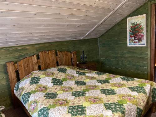 Кровать или кровати в номере Гостевой дом на Шаховского