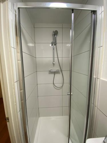 A bathroom at Contractors Guest House