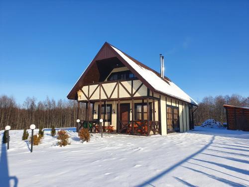 Усадьба Княжино зимой