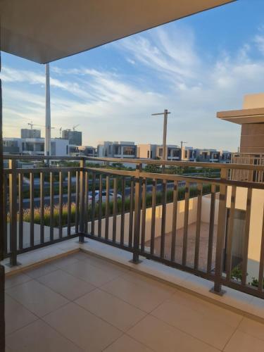 A balcony or terrace at 5 bedroom Villa - Dubai Hills