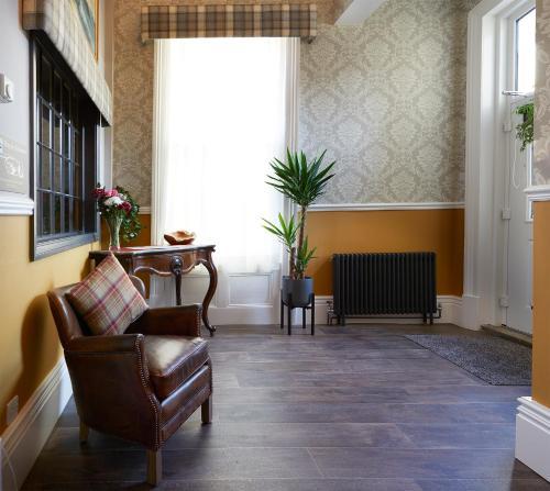 The lobby or reception area at Ashburton House - B&B