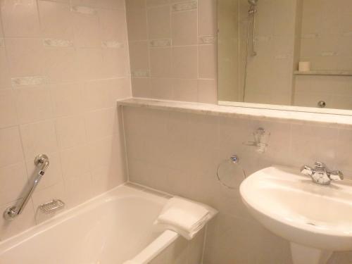 A bathroom at Pension Bunz