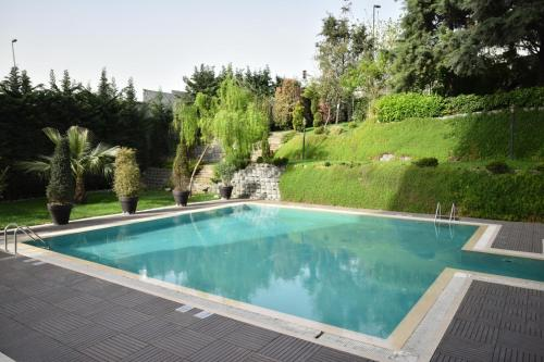 The swimming pool at or near Istanbul Gonen Hotel