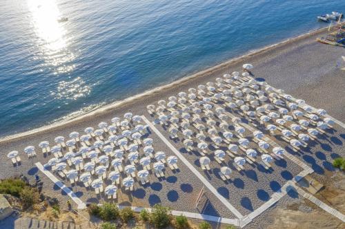 A bird's-eye view of Lindos Royal Resort
