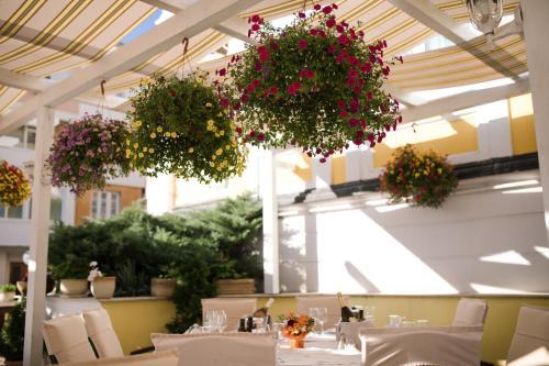 Ресторант или друго място за хранене в Хотел Анна Палас