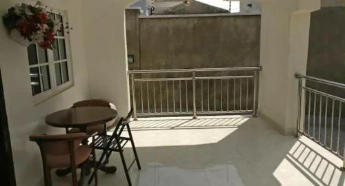 A balcony or terrace at The Gramophone Abuja
