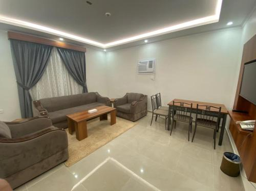 Uma área de estar em Ghalia Uhod