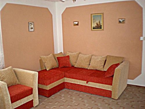 """Posezení v ubytování Penzion """"Apartmány U Semušky"""""""