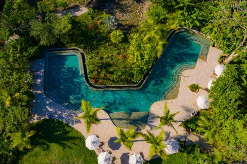 A view of the pool at Hotel Nantipa - A Tico Beach Experience or nearby