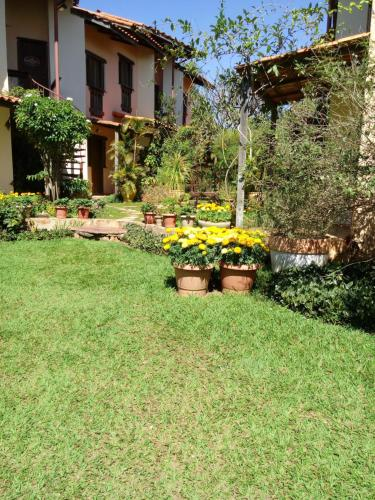 Um jardim em Eco Pousada Jardim do Eden
