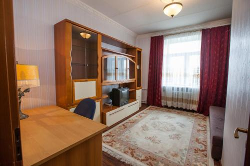 A seating area at Standard Brusnika Apartments Krasnoselskaya