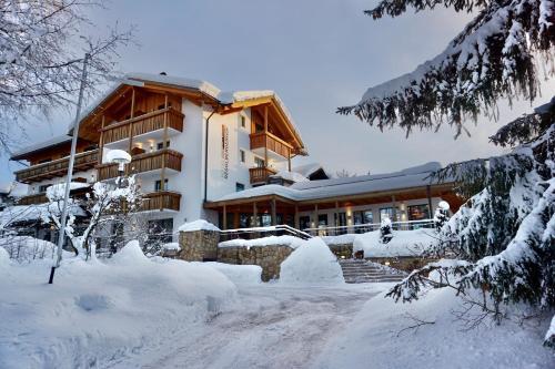 Hotel Regglbergerhof зимой