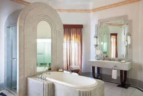 A bathroom at Umaid Bhawan Palace Jodhpur