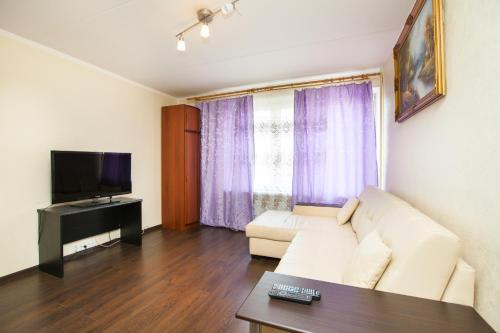 Гостиная зона в Standard Brusnika Apartments Vykhino