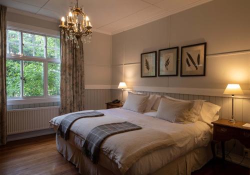 Cama o camas de una habitación en Estancia Cerro Guido