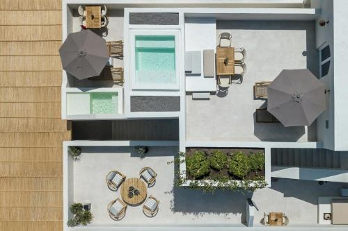 The floor plan of Istoria
