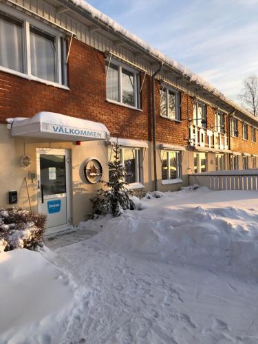 Docksta Hotell under vintern