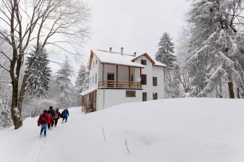Хижа Планинец - Тревненски балкан през зимата