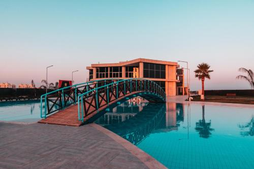 The swimming pool at or near EDELWEISS Residence