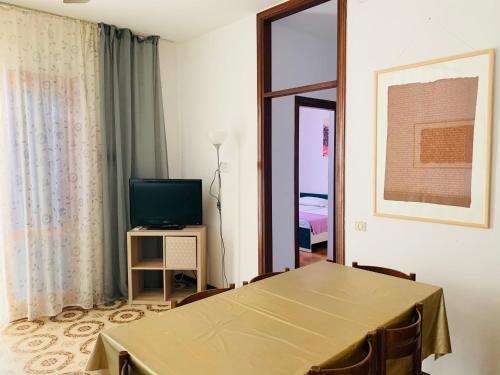 TV a/nebo společenská místnost v ubytování Villa Malta