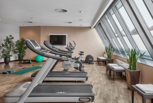 The fitness center and/or fitness facilities at Lebenberg Schlosshotel-Kitzbühel