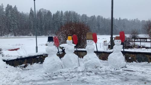 Mīlmaņi during the winter