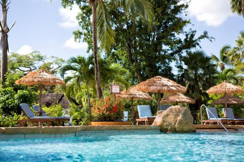 The swimming pool at or close to Galley Bay Resort & Spa - All Inclusive