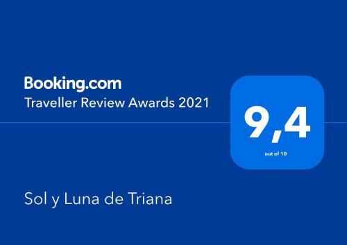 Certificato, attestato, insegna o altro documento esposto da Sol y Luna de Triana