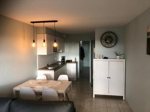 Küche/Küchenzeile in der Unterkunft Residentie Da Vinci Middelkerke