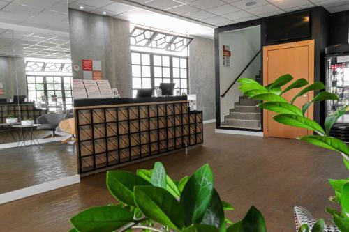 The lobby or reception area at GRAAL INN ITATIAIA