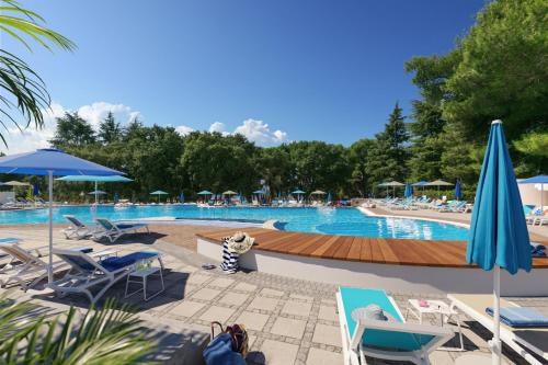 The swimming pool at or near Rubin Sunny Hotel by Valamar