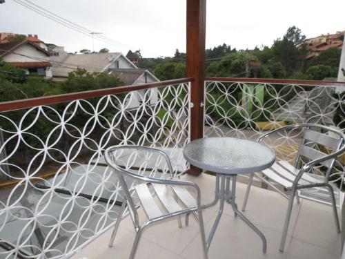 Uma varanda ou terraço em Olidal Pousada da Serra